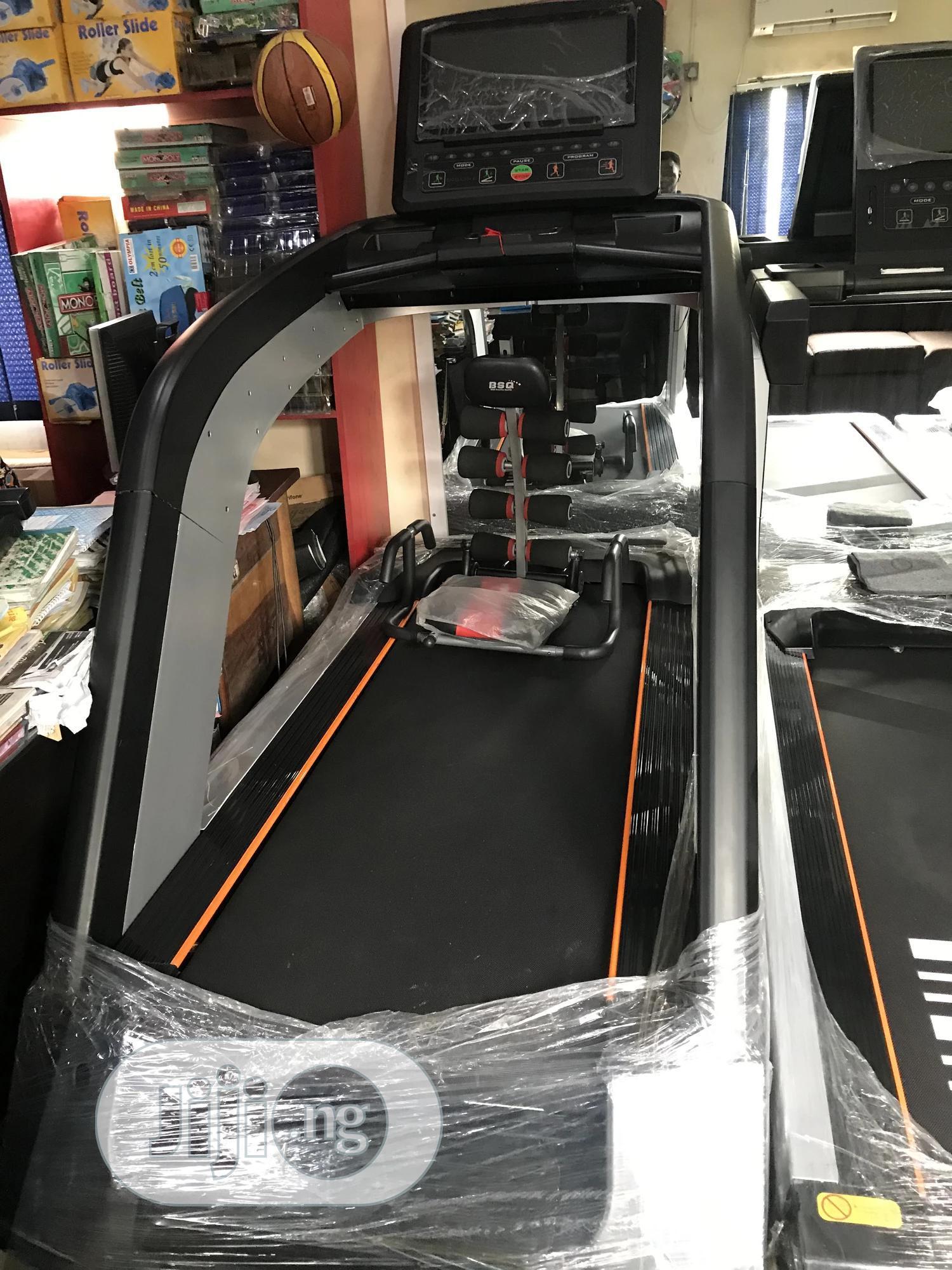 8feet Heavy Duty Commercial Treadmill