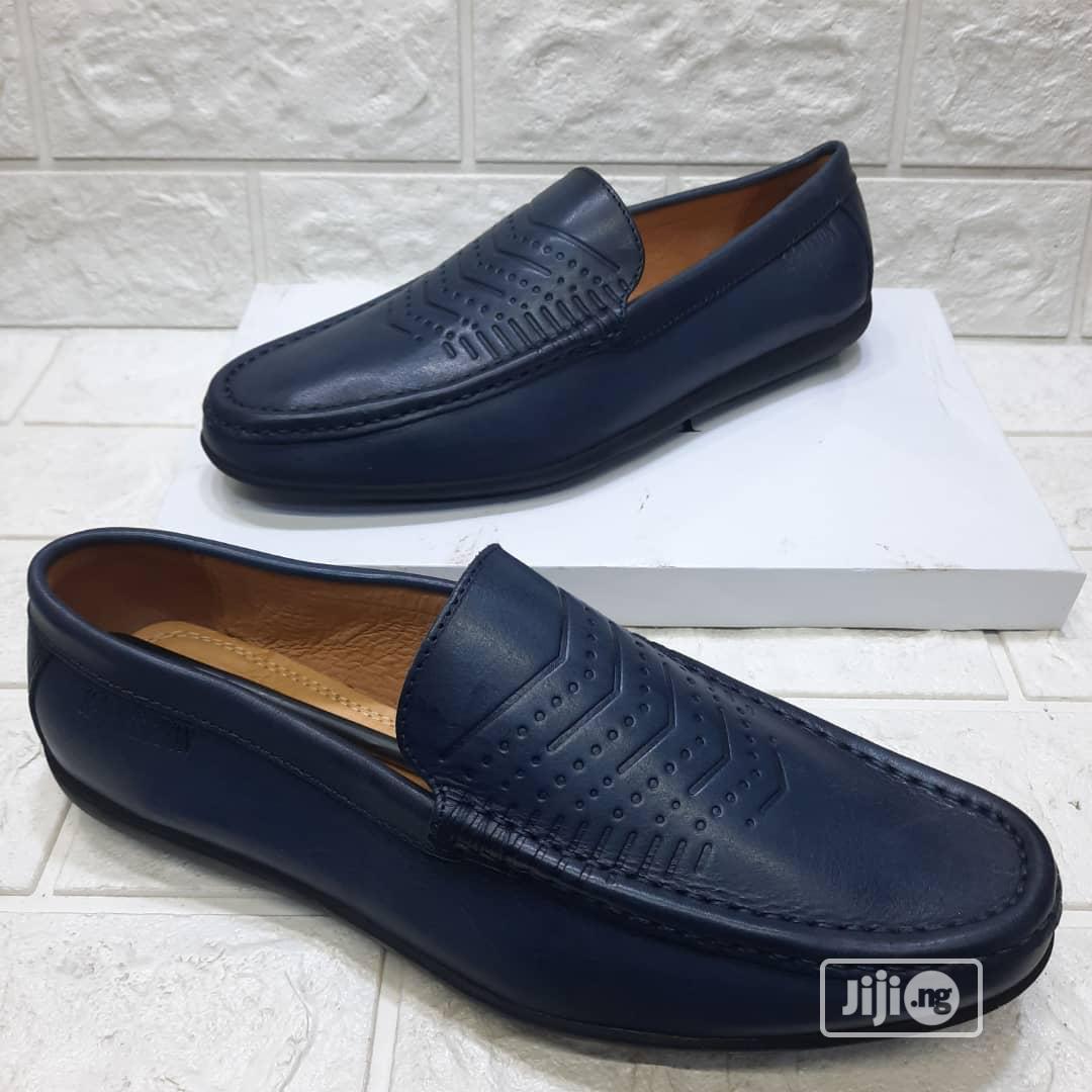 Flat Leather Men's Shoes
