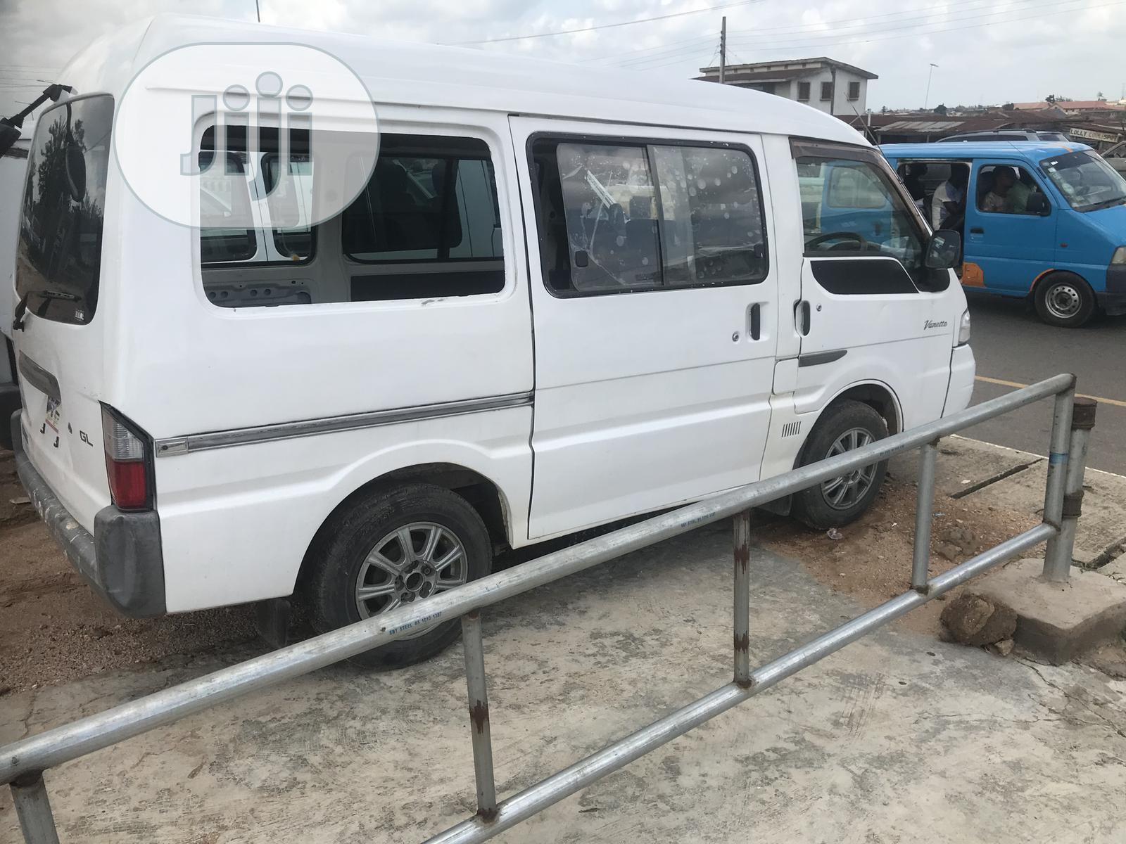 Nissan Vannet White 2003 Tokunbo Bus For Sale