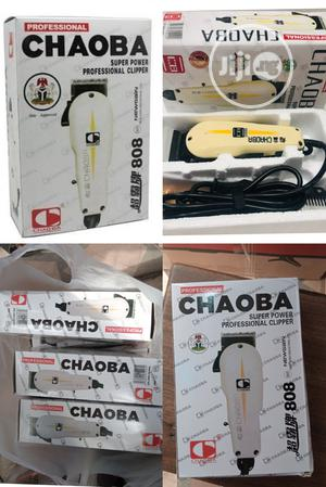Hair Clipper Chaoba Professional And Reliable | Tools & Accessories for sale in Lagos State, Oshodi
