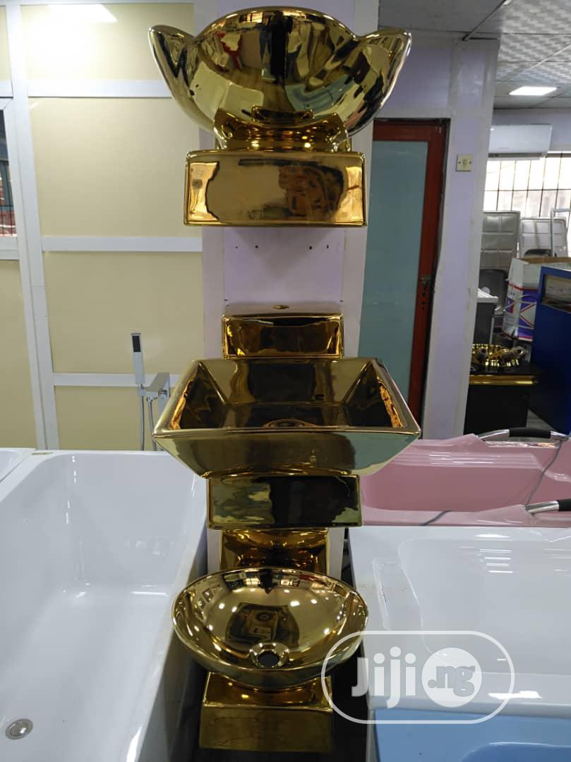 Golden Wash Hand Basin   Plumbing & Water Supply for sale in Surulere, Lagos State, Nigeria