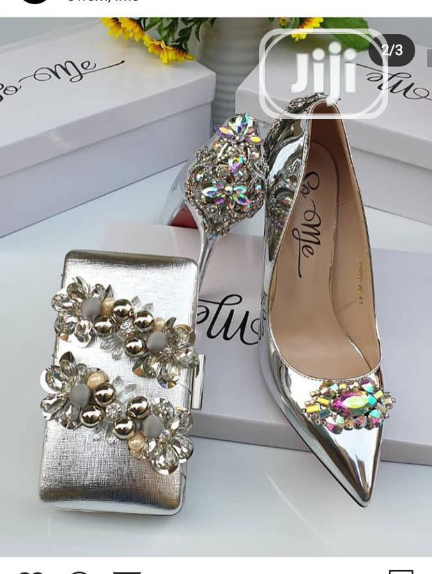Lovely Pump Shoe For Occasion Or Wedding Available In Colors