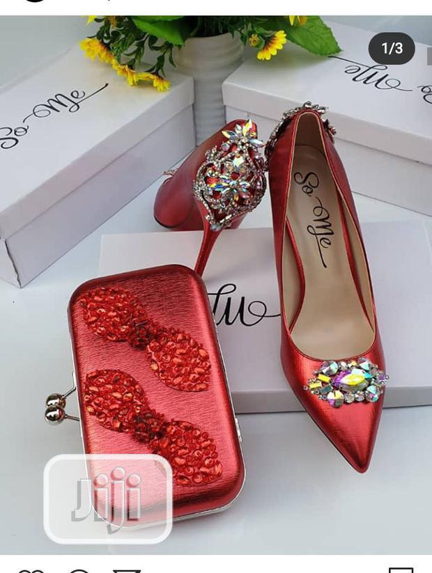 Lovely Pump Shoe For Occasion Or Wedding Available In Colors | Wedding Wear & Accessories for sale in Lagos Island, Lagos State, Nigeria