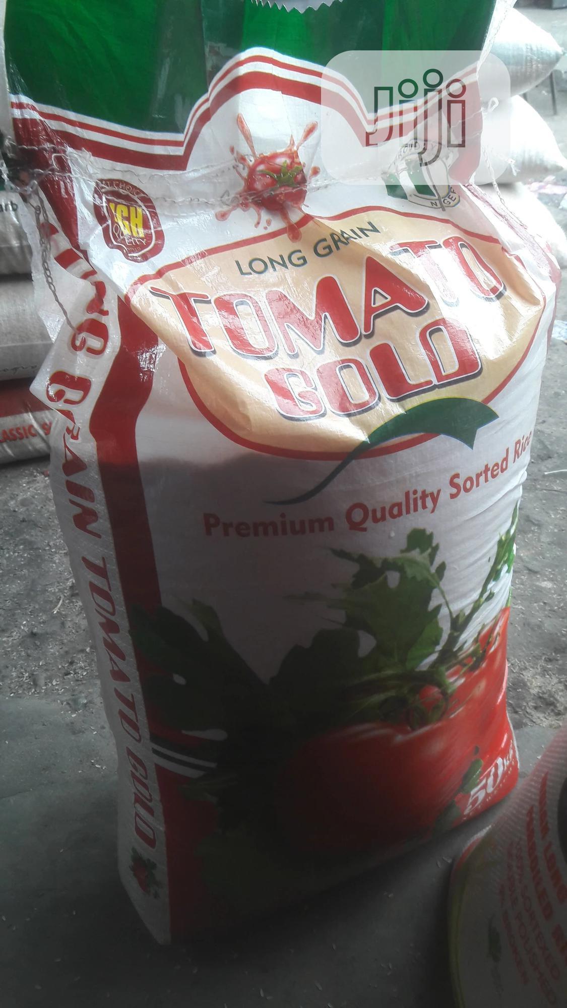 Tomato Gold Stone Free Rice