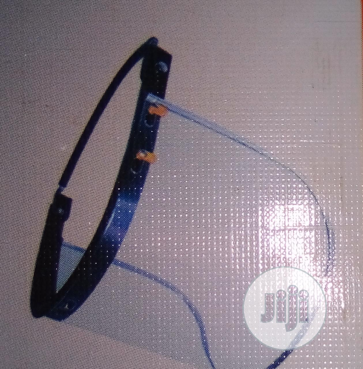 Face Shield With Helment