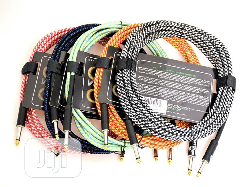Guitar Cable 10yards   Accessories & Supplies for Electronics for sale in Apapa, Lagos State, Nigeria