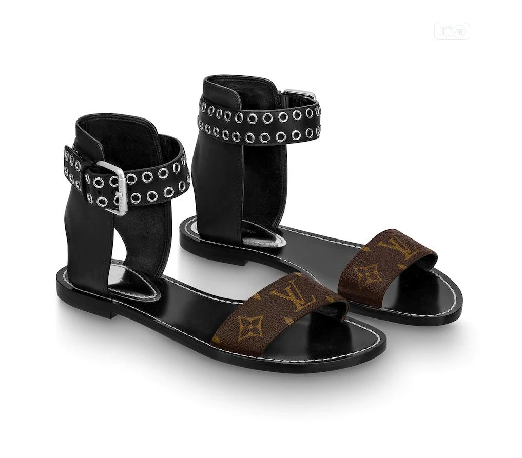 Louis Vuitton Female Sandals   Shoes for sale in Magodo, Lagos State, Nigeria