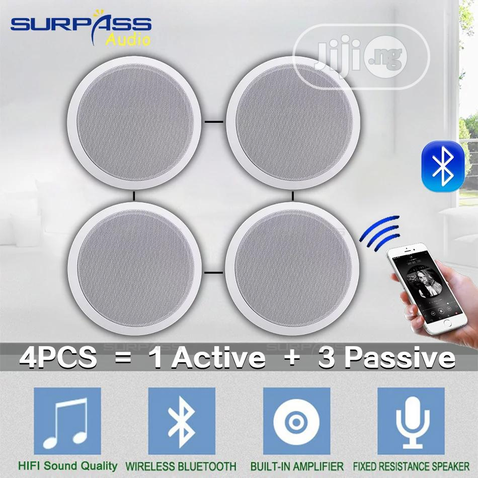 Bluetooth 4 In 1 Ceiling Speaker With Loud Sound Production | Audio & Music Equipment for sale in Ajah, Lagos State, Nigeria