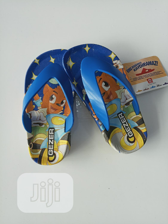 Archive: Gezer Kids Blue Slippers