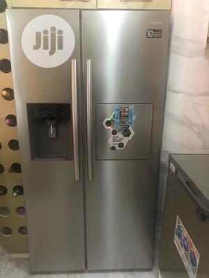 Midea 490L Side-by-side Fridge-dispenser + Ice Cube Maker | Kitchen Appliances for sale in Lagos State, Ikeja