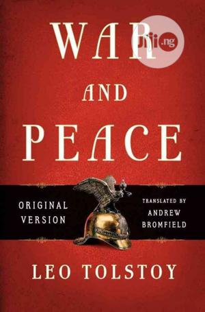 War And Peace Novel By Leo Tolstoy | Books & Games for sale in Lagos State, Surulere