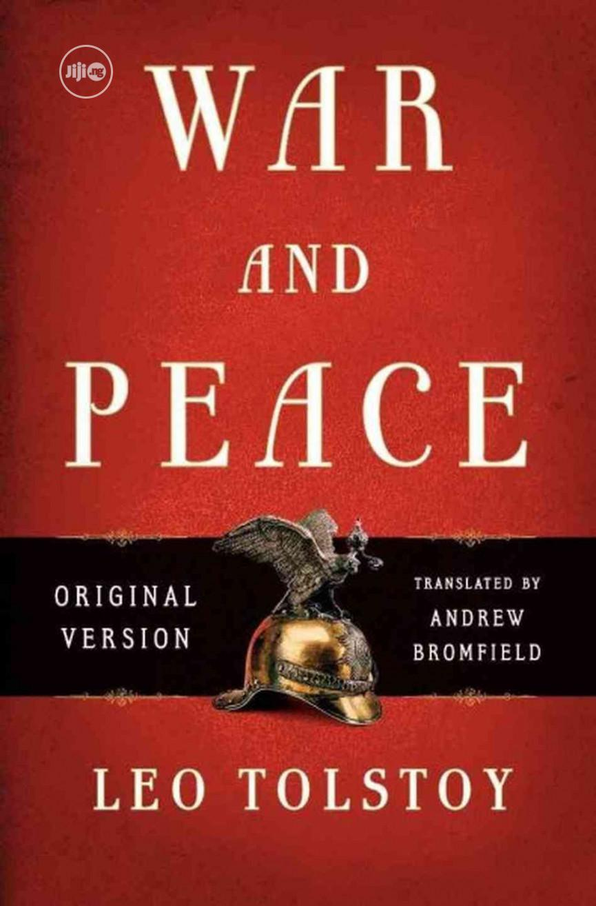 War And Peace Novel By Leo Tolstoy