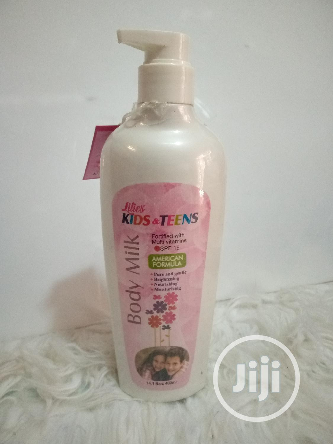 Archive: Lilies Kids And Teens Body Milk