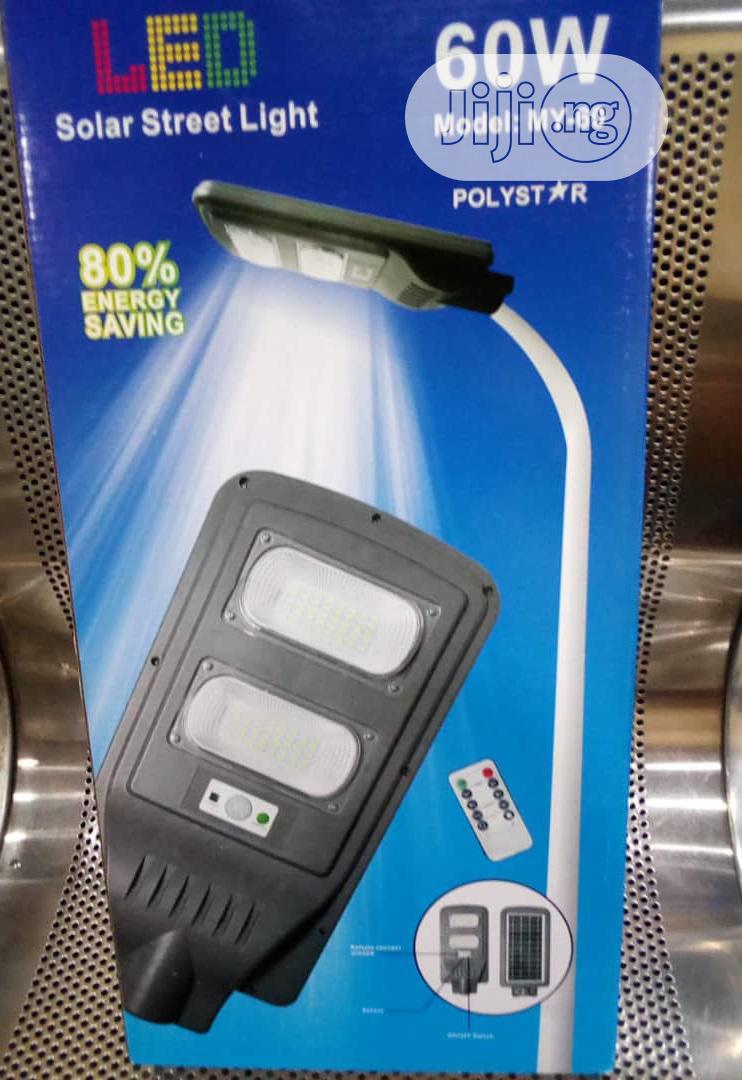 Polystar 60 WATTS LED Solar Street Light -PV-KJ60W