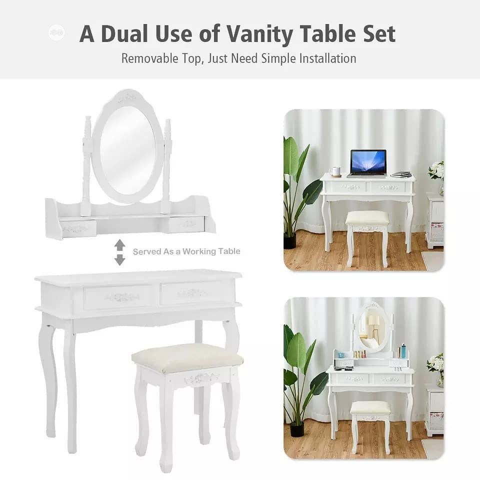 Dressing Table Set With Four Drawers | Furniture for sale in Lagos Island, Lagos State, Nigeria