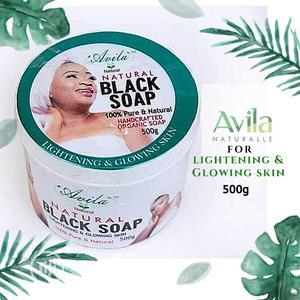 Avila Organic Lightening Herbal/Black Soap | Bath & Body for sale in Lagos State, Surulere