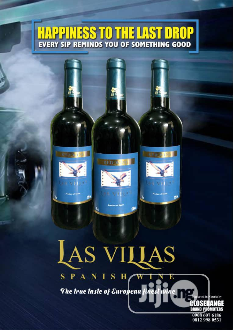 Archive: Las Villas Spanish Red Wine