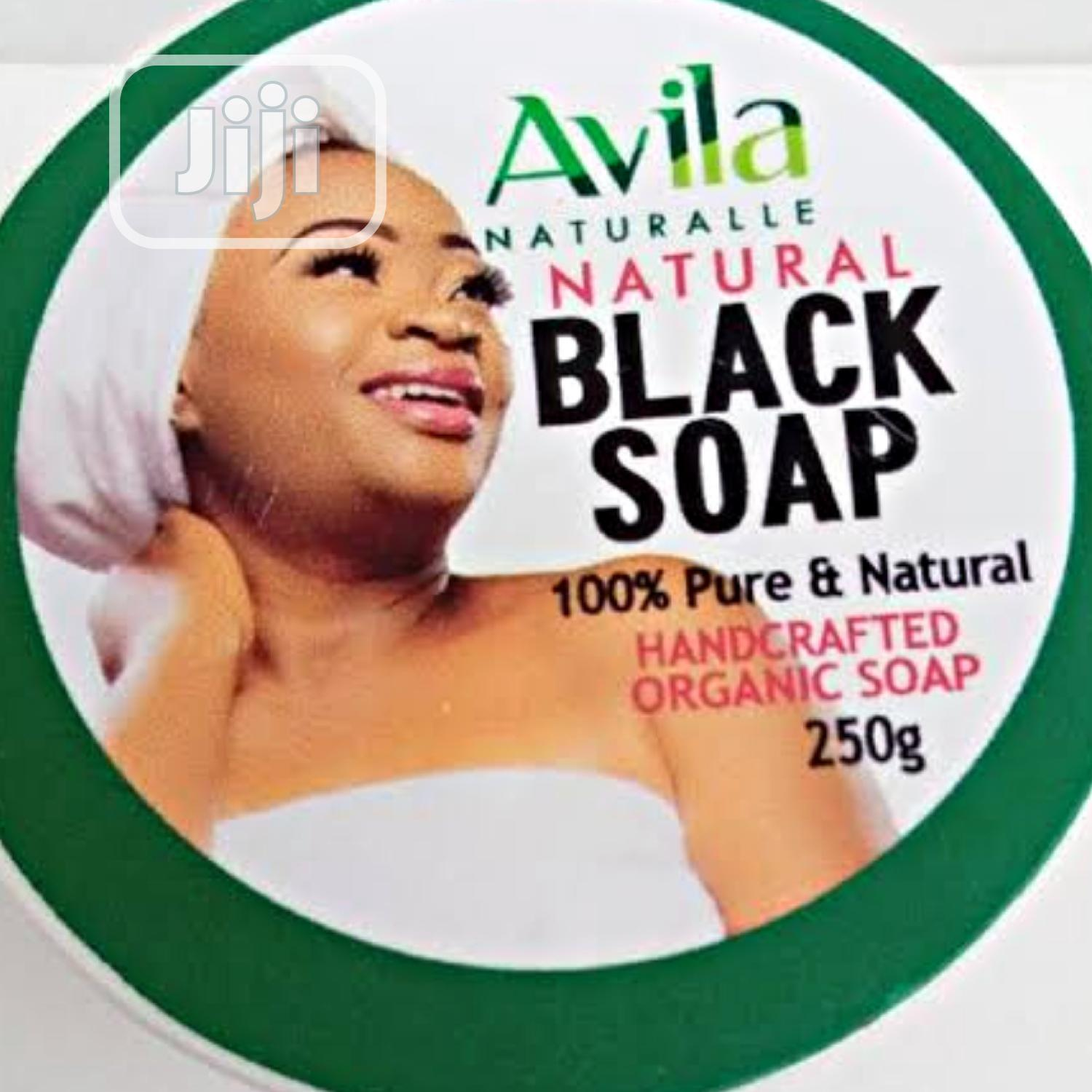 Avila Black Soap Lightening and Glowing Skin | Bath & Body for sale in Surulere, Lagos State, Nigeria