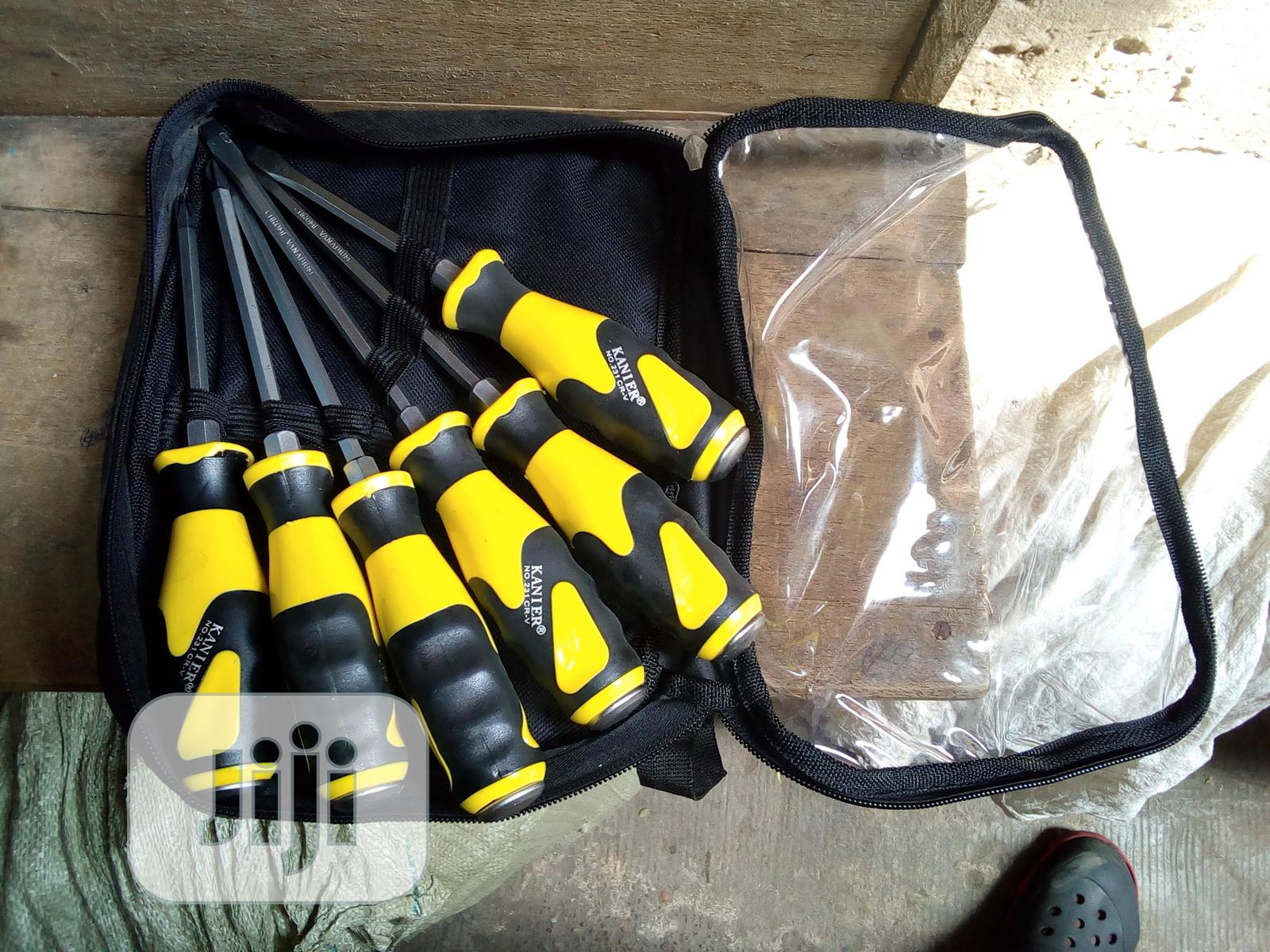 6 Pieces Set Of Mechanical Screwdriver | Hand Tools for sale in Lagos Island (Eko), Lagos State, Nigeria