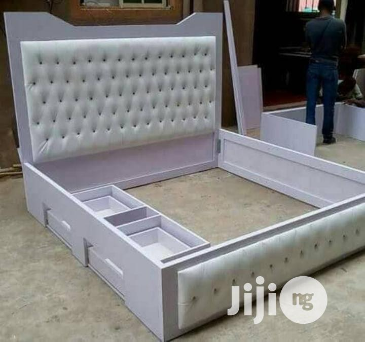 6x6 Bedframe With Extra Drawer