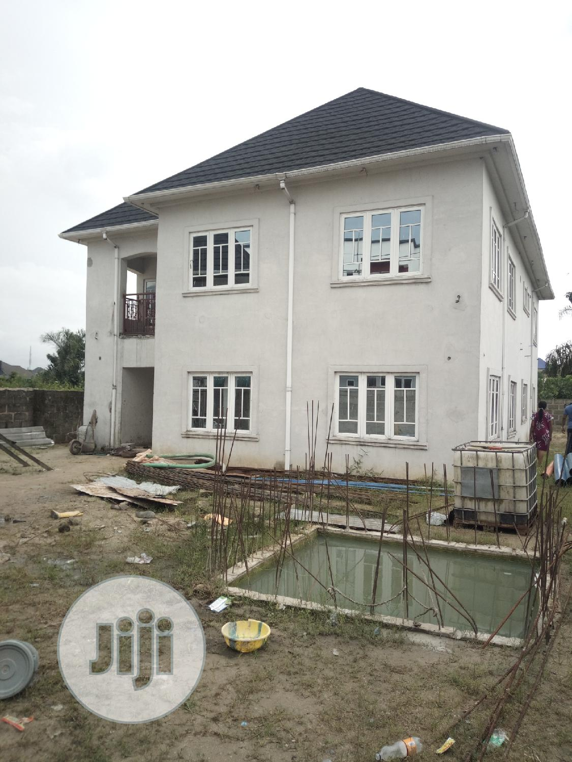 Brand New 4bedroom Duplex With Federal Light In Eliozu PH