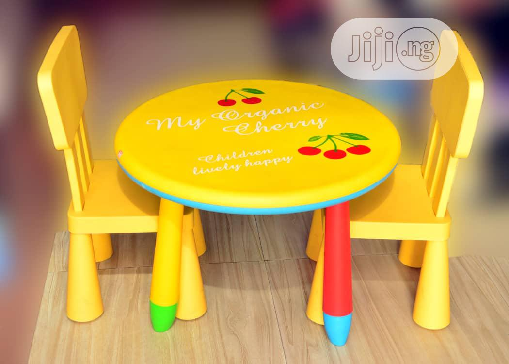 Kids Furniture Set (Table And Chairs For Nursery Kids)