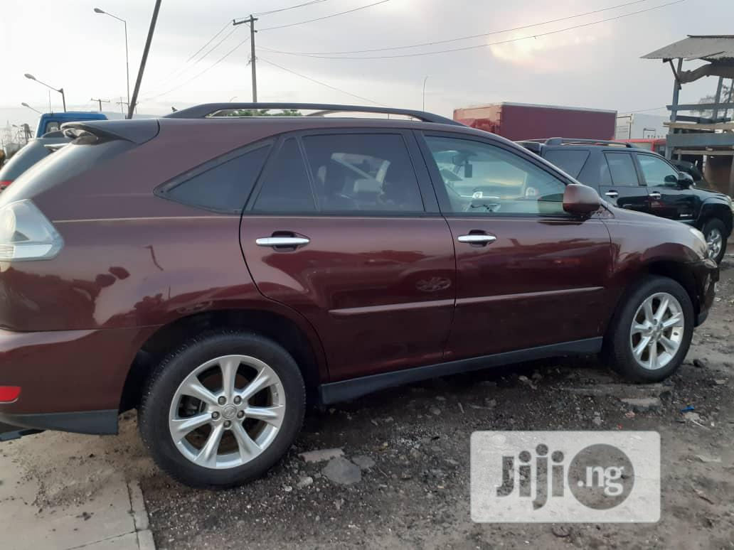 Archive: Lexus RX 2009 350 AWD Red