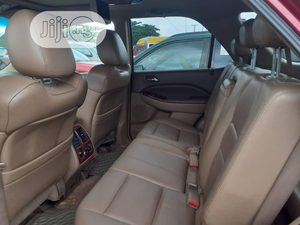 Acura MDX 2006 Red | Cars for sale in Apapa, Lagos State, Nigeria