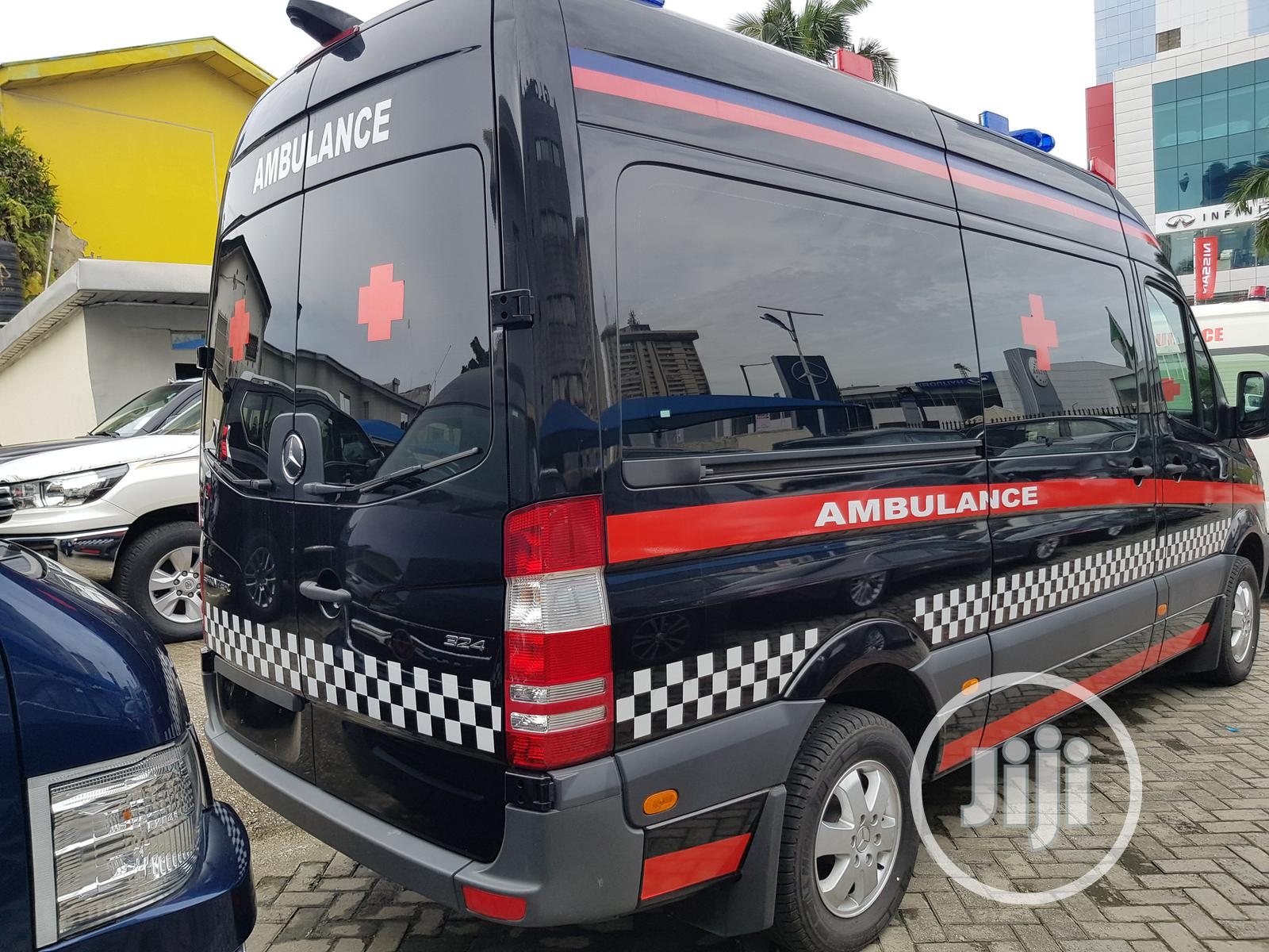 New Mercedes-benz Sprinter Ambulance Bus 2019 | Buses & Microbuses for sale in Victoria Island, Lagos State, Nigeria