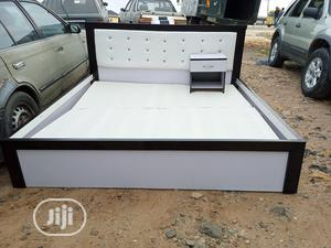 6by6feet Bedframes With A Bedside Drawer | Furniture for sale in Lagos State, Ajah
