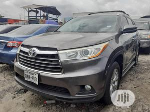 Toyota Highlander 2015 Gray | Cars for sale in Lagos State, Apapa