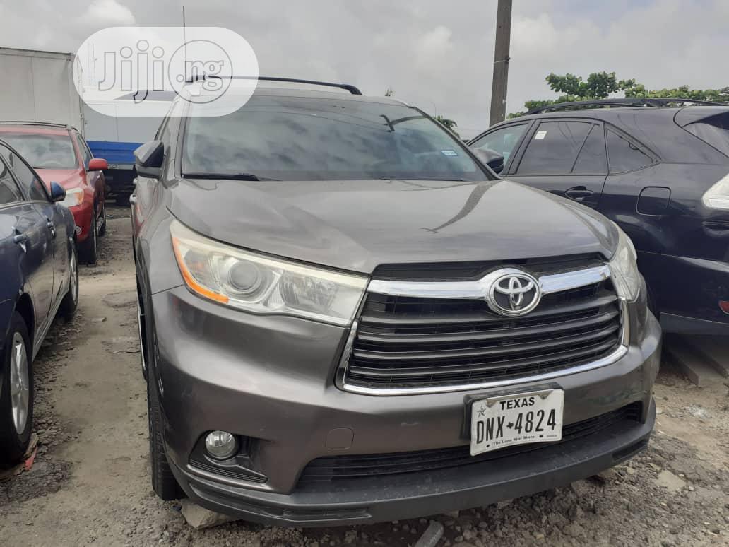 Toyota Highlander 2015 Gray | Cars for sale in Apapa, Lagos State, Nigeria