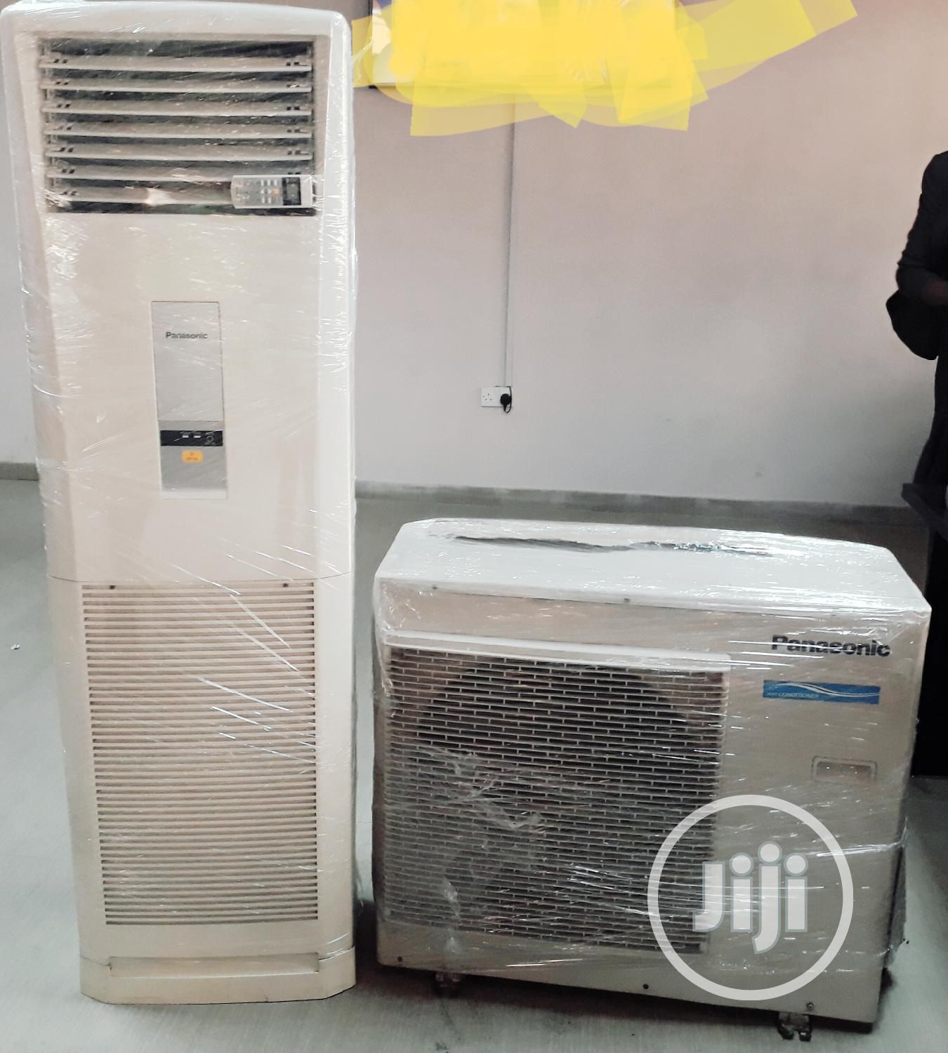 Panasonic 3hp Standing Air Conditioner With 1 Year Warranty | Home Appliances for sale in Yaba, Lagos State, Nigeria