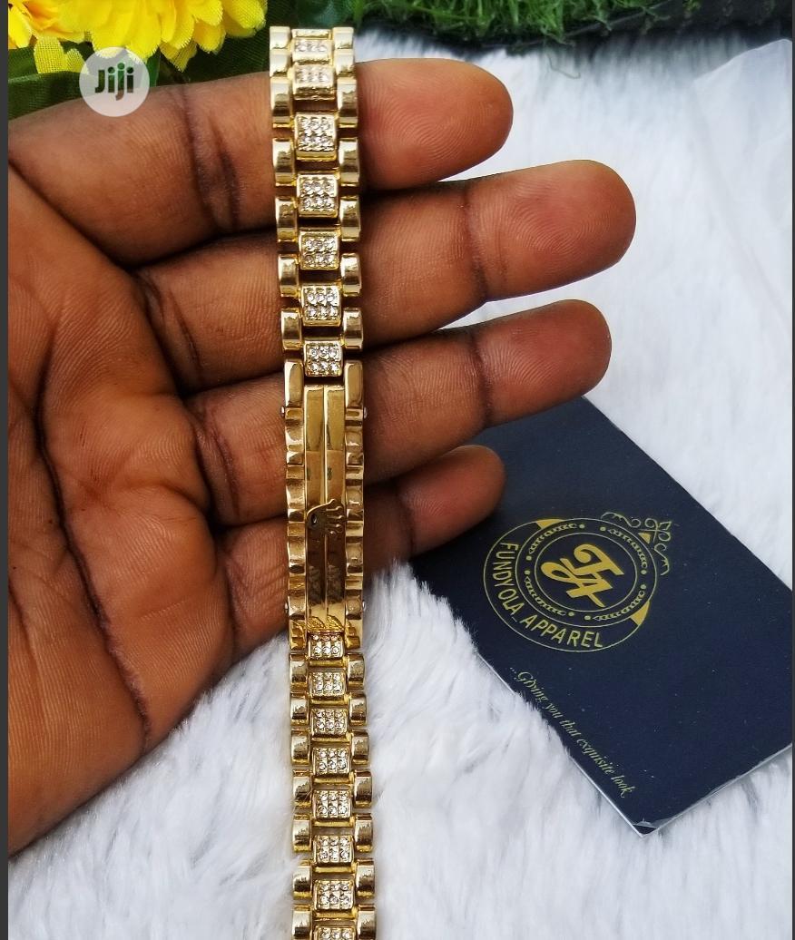 Male Rolex Hand Chain Bracelet