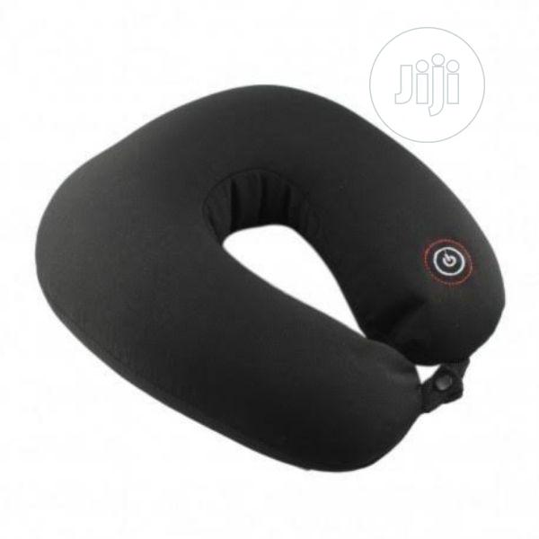 Vibrating Microbead Travel Pillow Neck Massage Support | Health & Beauty Services for sale in Agege, Lagos State, Nigeria