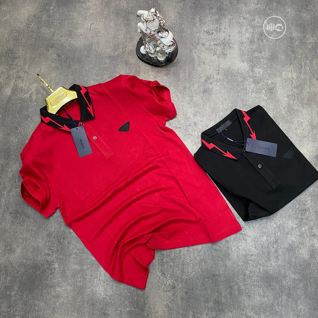 Authentic Prada Polo Shirts | Clothing for sale in Alimosho, Lagos State, Nigeria