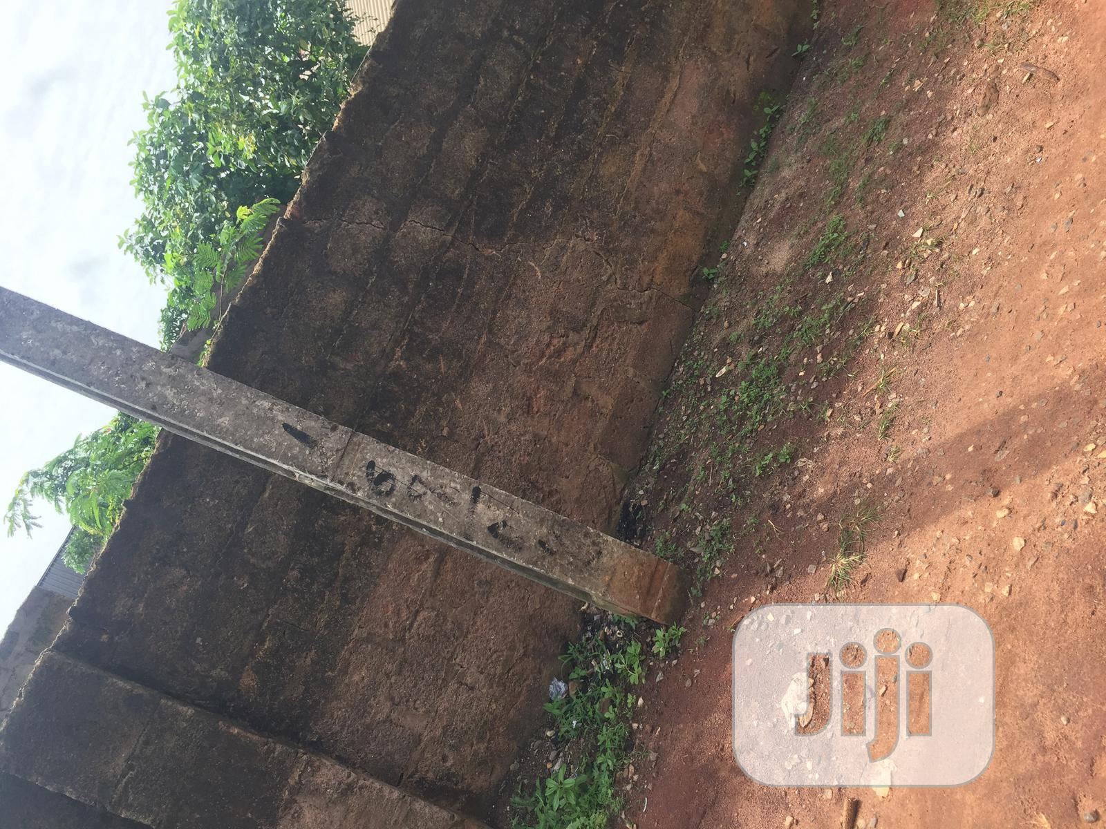 Fenced Land Of 50 By 100 For Sale At Oluku