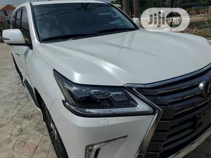 Lexus LX 570 2018 Three-Row White   Cars for sale in Lagos State, Ajah