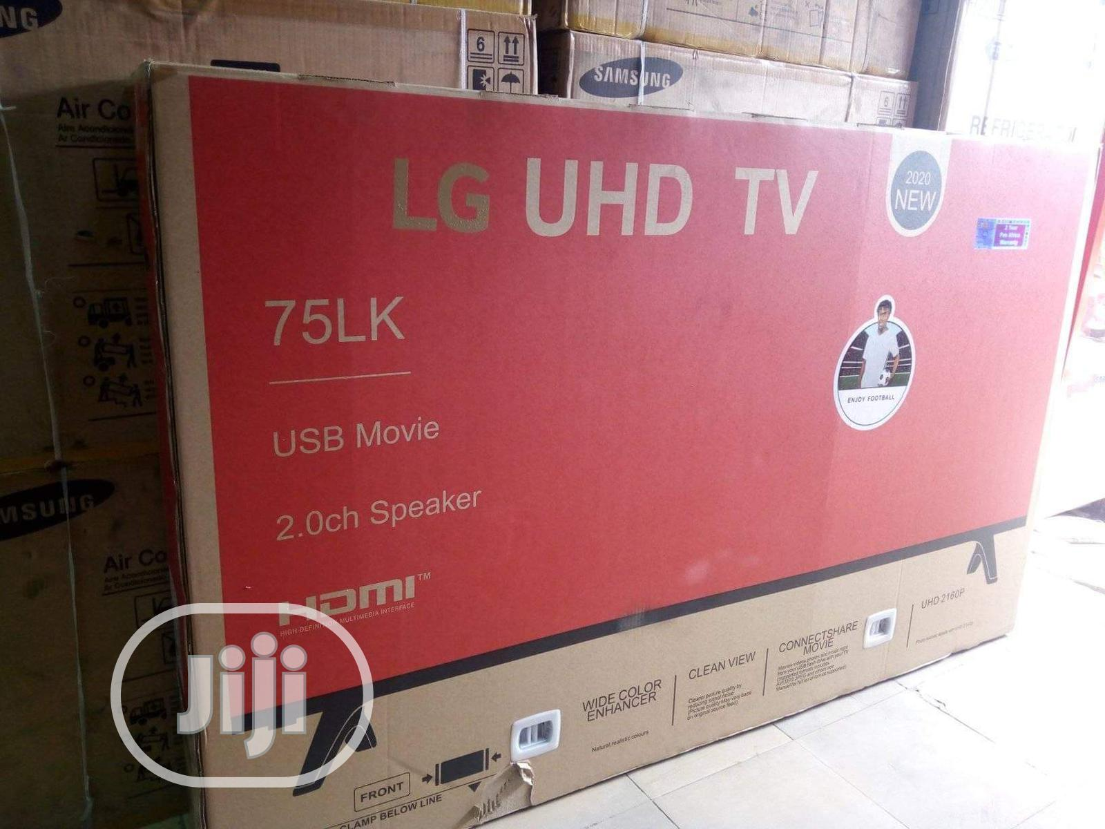 """Brand New LG 75"""" Android Smart WI-FI Television Full HD"""