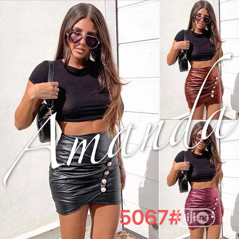Leather Short And Skirt | Clothing for sale in Amuwo-Odofin, Lagos State, Nigeria