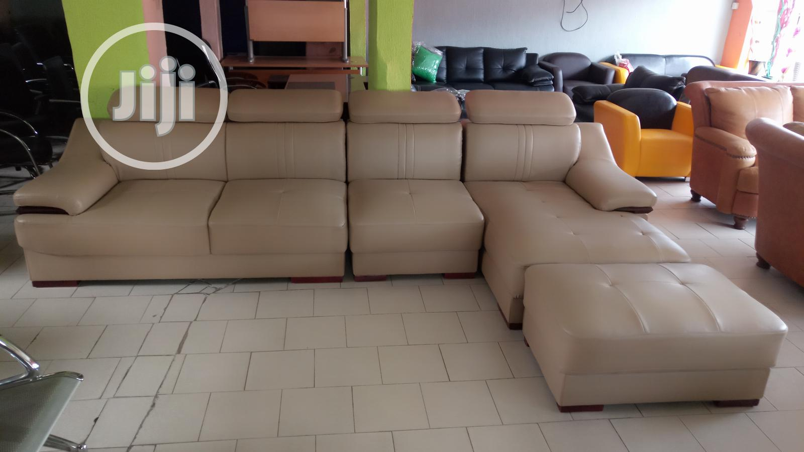 Archive: New Exevutive L Shape Sofa Chair With Single Seater