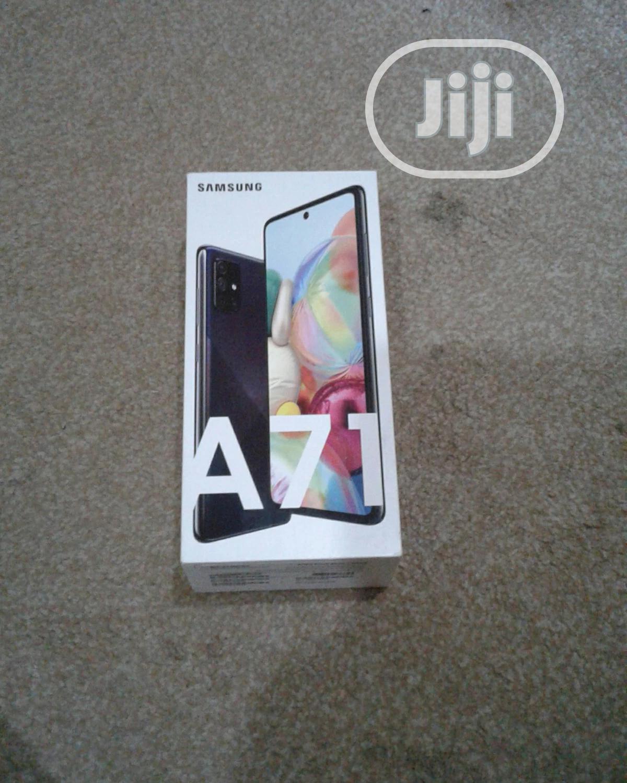 New Samsung Galaxy A71 128 GB White