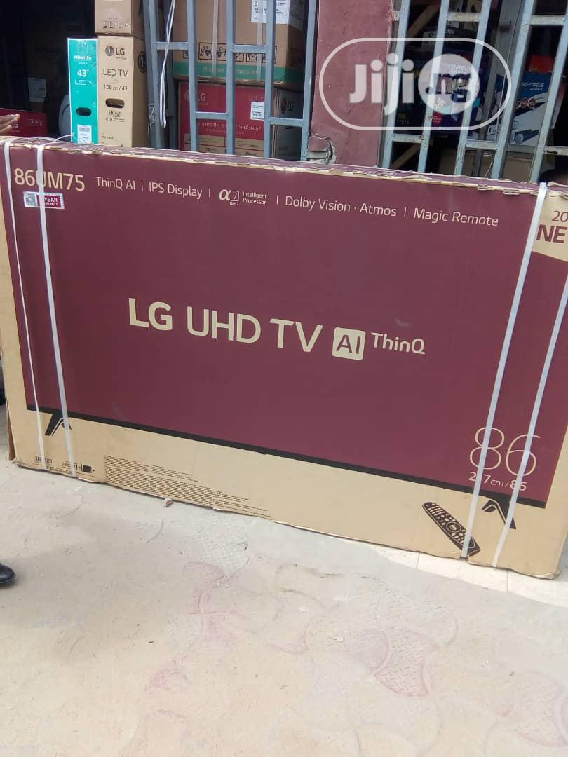 """LG Android Television 86"""" 