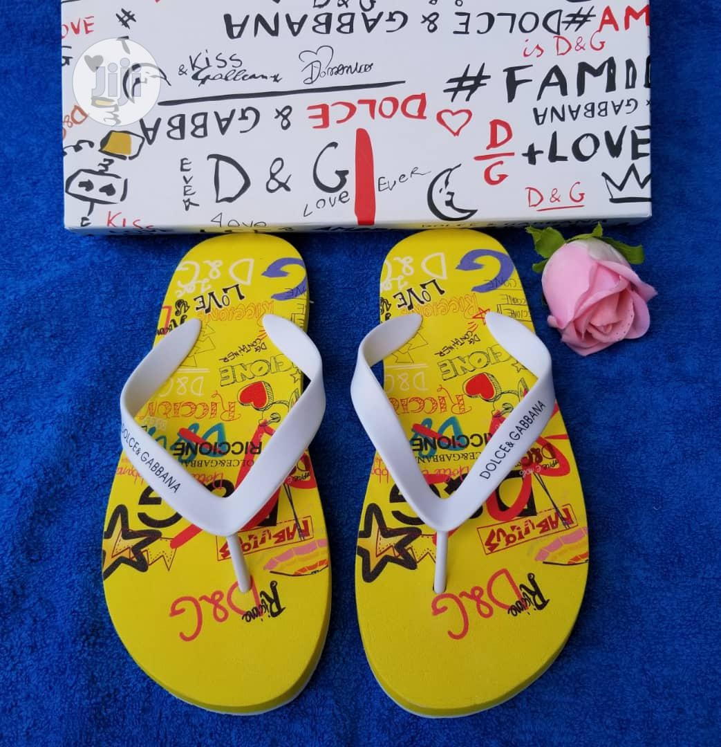 Archive: Dolce & Gabbana Slippers