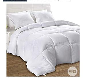Correct White Duvet,Bedsheet With 4 Pillowcases _6*6   Home Accessories for sale in Lagos State, Ikeja