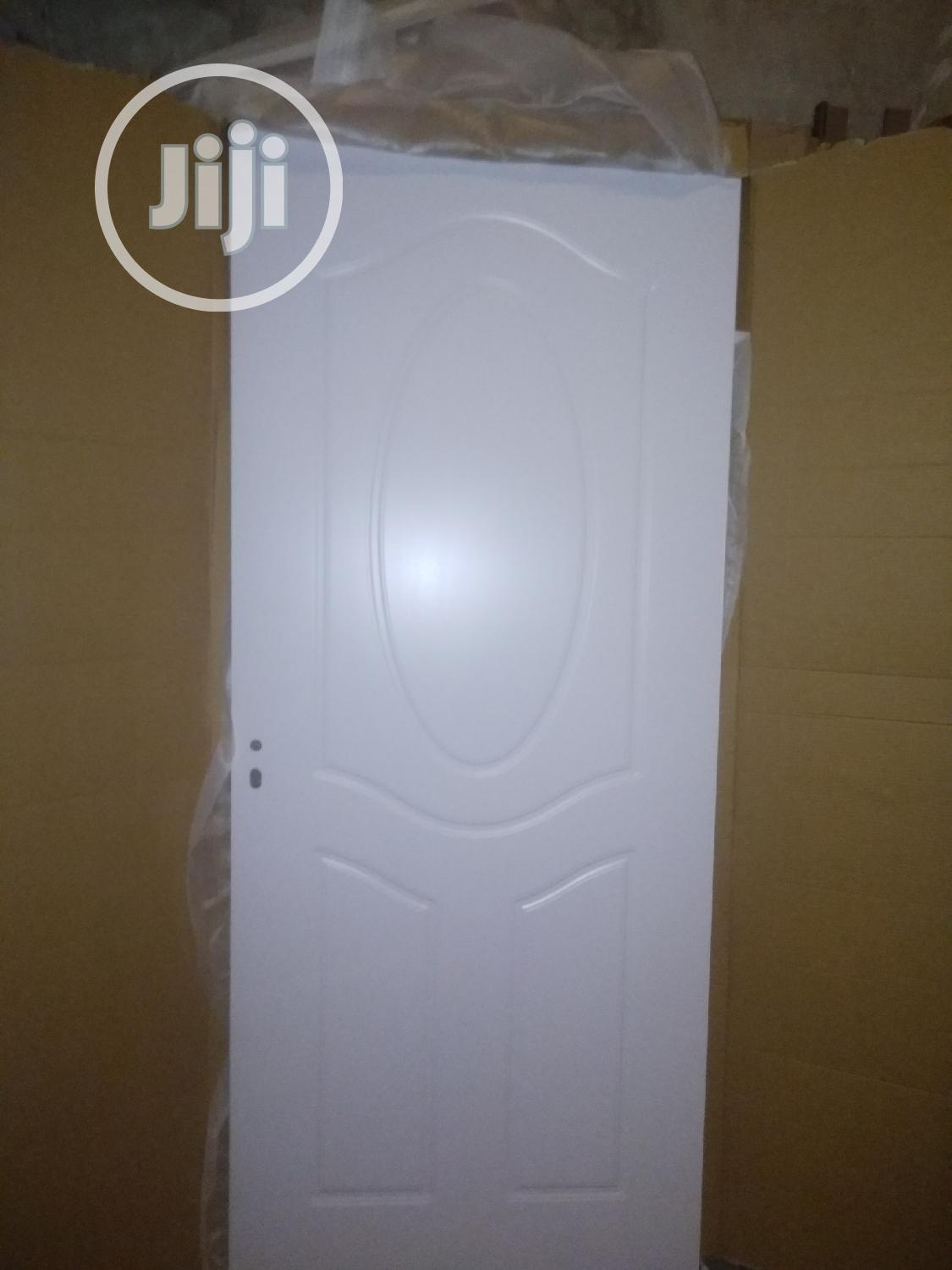 New Arrivals - Quality Wooden Doors For Rooms   White   Doors for sale in Orile, Lagos State, Nigeria