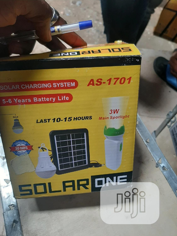 Archive: 3W Solar Generator