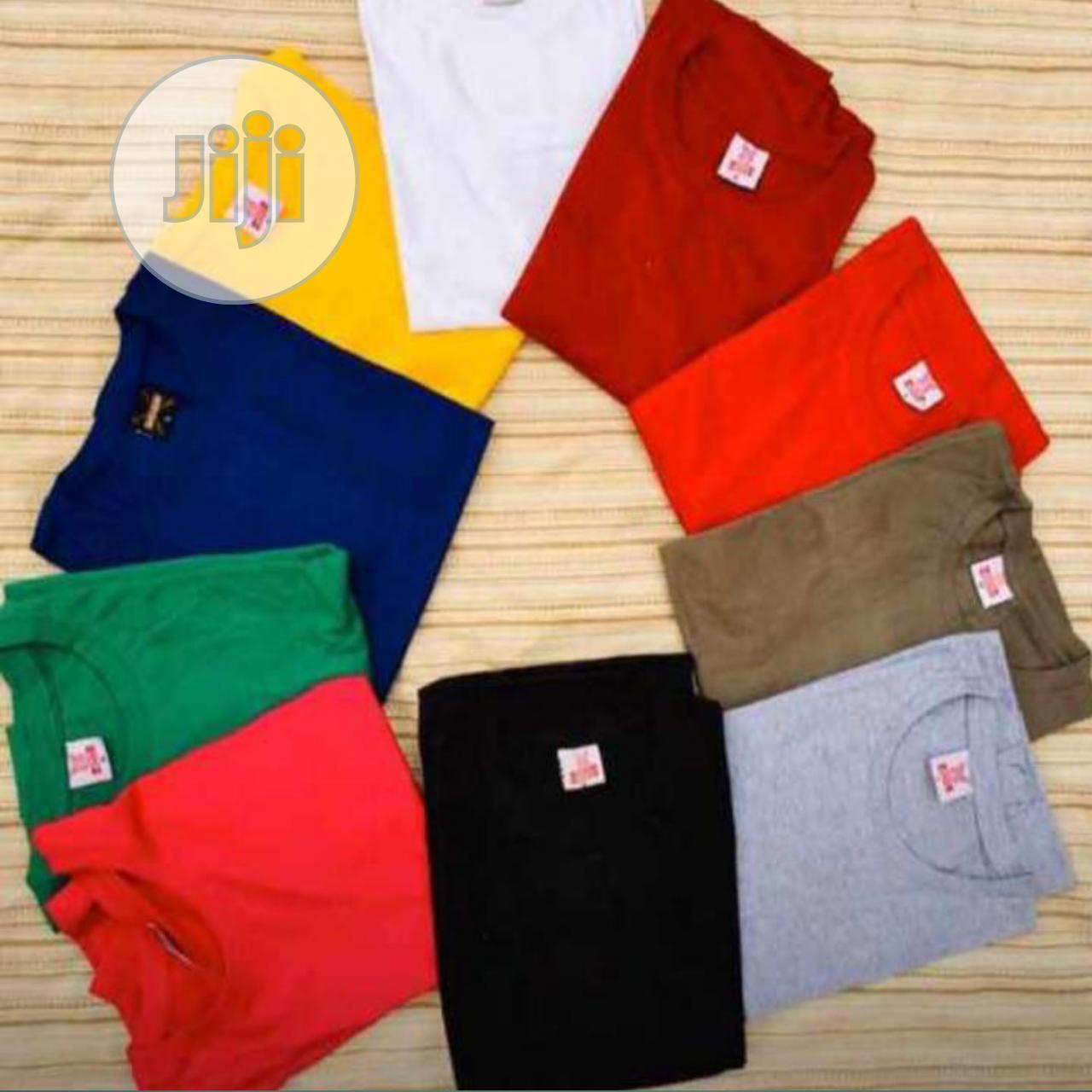 Quality Plain Tees With Cap   Clothing Accessories for sale in Ajah, Lagos State, Nigeria