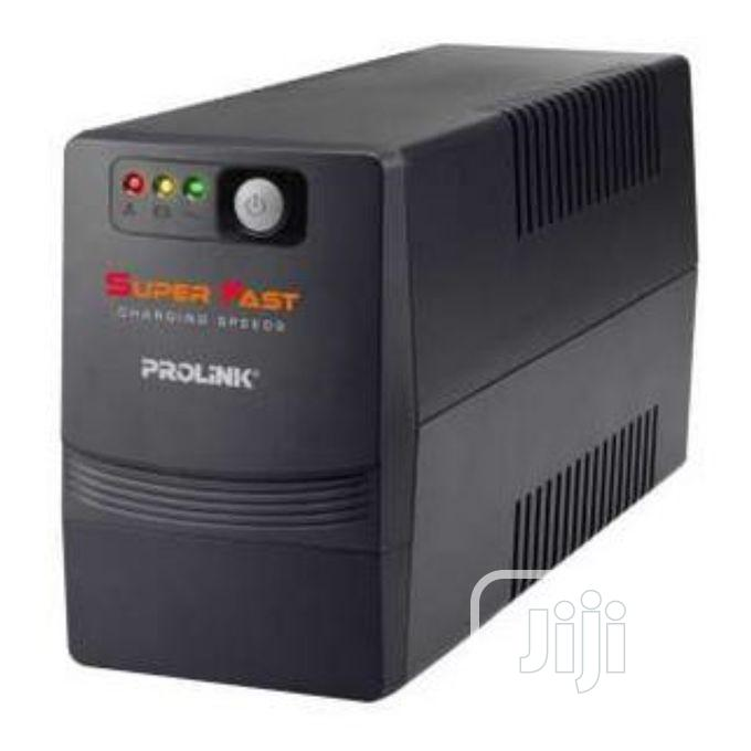 Archive: PROLINK 650VA Super Fast Charging Line-interactive UPS