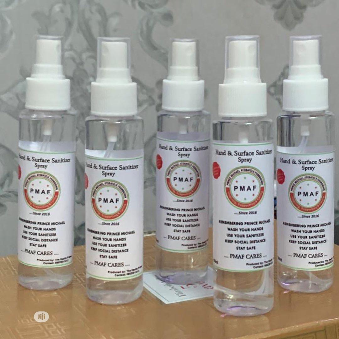 Hand & Surface Sanitizer Spray | Skin Care for sale in Lekki, Lagos State, Nigeria